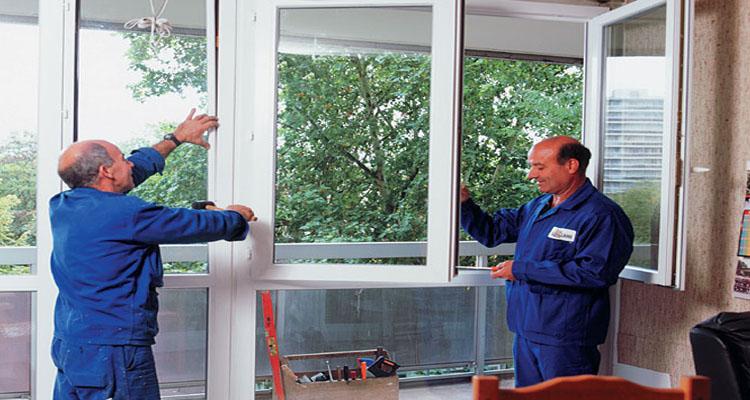 La pose d'une fenêtre en cas de semi-rénovation