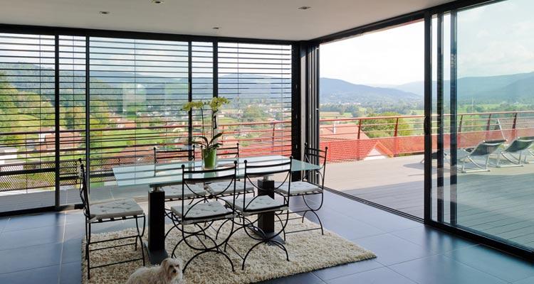Quelle baie vitrée choisir pour votre logement ?